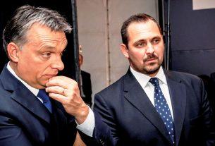 Orbán Viktor és Mengyi Roland