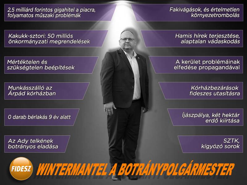 Wintermantel Zsolt a botránypolgármester