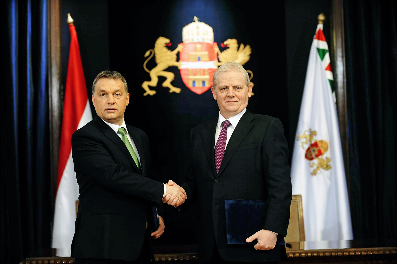 Orbán Viktor és Tarlós István