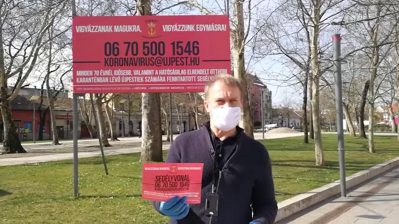 Varju László újpesti segélyvonal